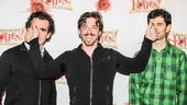 Something Rotten - Meet the Press - 2/15 -Brian d'Arcy James - Christian Borle -  John Cariani