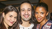 Hamilton - Broadway annoucement - 2/15 - Phillipa Soo - Lin-Manuel Miranda - Renee Elise Goldsberry