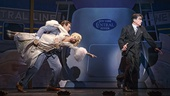 Andy Karl as Bruce Granit, Kristin Chenoweth as Lily Garland & Peter Gallagher as Oscar Jaffee in On the Twentieth Century