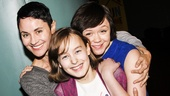 Fun Home - Meet the Press - 3/15 - Beth Malone - Sydney Lucas - Emily Skeggs