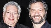 Something Rotten - backstage - 4/15 - Harvey Fierstein - Judd Apatow