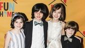 Fun Home - Opening - 4/15 - Gabriella Pizzolo - Oscar Williams - Sydney Lucas - Zell Steele Morrow