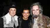 Something Rotten! - Backstage - 4/15 - Sergio Trujillo - Brad Oscar - Brooks Ashmanskas
