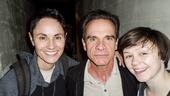 Fun Home - Backstage - 5/15 - Peter Scolari - Beth Malone - Emily Skeggs