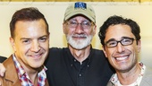 The Visit - Backstage - 6/15 - Stephen Beinskie - David Garrison - Christopher Gattelli