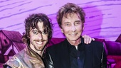 Something Rotten! - Backstage - 6/15 - Christian Borle - Barry Manilow