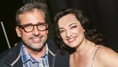 Steve Carell  - Laura Michelle Kelly