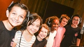 School of Rock - Recording - 7/15 - Luca Padovan, Isabella Russo, Carly Gendell, Bobbi MacKenzie, Dante Melucci and Jared Parker.