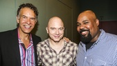 Fun Home - Actors Fund performance - 8/15 - Brian Stokes Mitchell, Michael Cerveris and James Monroe Iglehart