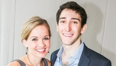 Beautiful: The Carole King Musical - Tour cast - Meet the press - 9/15 - Becky Gulsvig and Ben Fankhauser