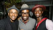 Hedwig and the Angry Inch - Taye Diggs - closing - 9/15 - Hill Harper, Billy Porter and Taye Diggs