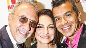 Viva Broadway - Benefit Concert - Gloria Estefan - Miami Sound Machine - 9/15 - Emilo Estefan, Gloria Estefan and Sergio Trujillo