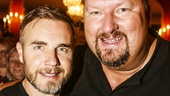 FInding Neverland - Backstage - 9/15 - Gary Barlow and Eliot Kennedy