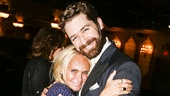 FInding Neverland - Backstage - 9/15 - Kristin Chenoweth and Matthew Morrison