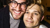 Spring Awakening - backstage - 9/15 - Darren Criss and Andy Mientus