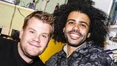 Hamilton - backstage - 10/15 -