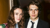 Therese Raquin - Opening - 10/15 - Keira Knightley- husband James Righton
