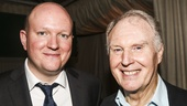 King Charles III - Opening - 11/15 - playwright Mike Bartlett  with Tim Pigott-Smith