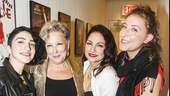 On Your Feet! - Opening - 11/15 - Emily Estefan, Bette Midler, Gloria Estefan and Sophie Von Haselberg