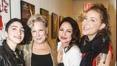 On Your Feet! - Opening - 11/15 - Emily Estefan, Bette Midler, Gloria Estefan and Sophie Von Haselberg