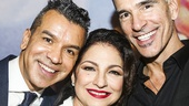 On Your Feet! - Opening - 11/15 - director Jerry Mitchell,  Gloria Estefan and choreographer Sergio Trujillo