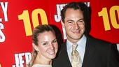 The Jersey Boys - 10th Anniversary - 11/15 - wife Jessica Bogart-Matt Bogart