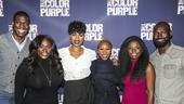 The Color Purple - Meet the Press - 11/15 - Kyle Scatliffe, Danielle Brooks, Jennifer Hudson, Cynthia Erivo, Joaquina Kalukango and Isaiah Johnson