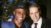 Kinky Boots - Wayne Brady - First Performance - 12/15 - Wayne Brady and Andy Kelso