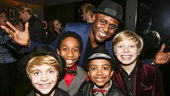 Kinky Boots - Wayne Brady - First Performance - 12/15 -  Jake Katzman, Jeremy T. Villas, Marquise Neal and Graham Montgomery