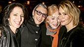 School of Rock - Opening - 12/15 - nna Louizos, Robyn Goodman, Holland Taylor and Sarah Paulson