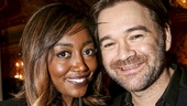 School of Rock - Opening - 12/15 - Patina Miller and husband David Mars
