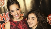 School of Rock - Opening - 12/15 - Ana Villafane and Alexandria Suarez