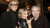School of Rock - Opening - 12/15 - Tommy Tune, Madeleine Gurdon, and composer Andrew Lloyd Webber