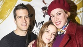 Fiddler on the Roof - Opening - 12/15 - Panio Gianopoulos, wife Moly Ringwald and daughter Matilda