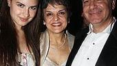2008 Tony Awards After Parties - In the Heights - Priscilla Lopez - daughter Gabriella - husband Vincent