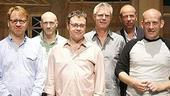 Billy Elliot cast meet and greet - Ian MacNeil - Peter Darling - Lee Hall - Stephen Daldry - Eric Fellner - Jon Finn