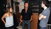 Bruce Springsteen at Spring Awakening - Bruce Springsteen - Eryn Murman - Matt Doyle (talking)