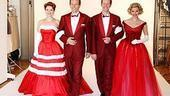 White Christmas Photo Shoot - Kerry O'Malley - Stephen Bogardus - Jeffry Denman - Meredith Patterson