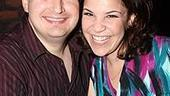 Marvelous Wonderettes Opening - Lindsay Mendez - husband Michael Borth