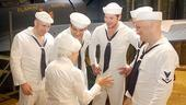 Time Square Kiss Nurse at South Pacific – Victor Hawks - Charlie Brady - Nick Mayo -  Christian Delcroix - Michael Arnold – Edith Shain