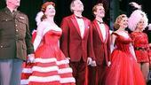 White Christmas Opening Night – Stephen Bogardus – Kerry O'Malley – Meredith Patterson – Jeffry Denman – Cast