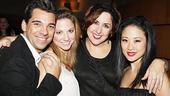 White Christmas Opening Night – Rickie Mastascusa – Sara Brians – Wendy James – Sae La Chin