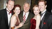 White Christmas Opening Night – Stephen Bogardus – Kerry O'Malley – Jeffry Denman – Meredith Patterson – Walter Bobbie