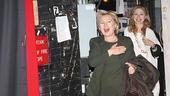 Hillary Clinton at Billy Elliot – entrance