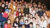 Hillary Clinton at Billy Elliot – group