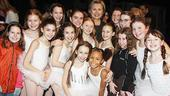 Hillary Clinton at Billy Elliot – ballet girls