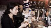 Laura Benanti Backstage at Gypsy – lunch