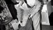 Laura Benanti Backstage at Gypsy – dressing