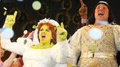 Shrek the Musical Opening Night – Sutton Foster – Christopher Sieber