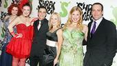 Shrek the Musical Opening Night - Rachel Stern -  Jennifer Simard - Noah Rivera, Carolyn Ockert-Haythe - Heather Jane Rolff - Chris Hoch